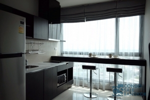 Condo for sale/rent at Sukhumvit 44/1, 1 Bedroom 45 Sq.m. High floor nice view, Good to buy for investment and residence, Only 2 minutes walk to Phra Khanong BTS station.